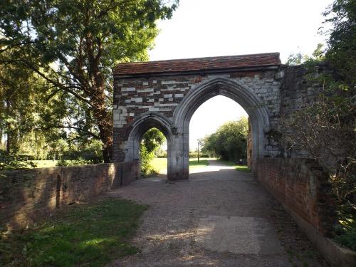 Waltham Abbey's monastery gateway