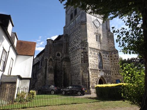 Waltham Abbey church west end
